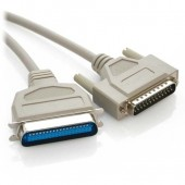IEEE1284 Parallel Printer Cable, 6Ft