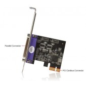 StarTech.com 1 Port PCI Express Dual Profile Parallel Adapter Card