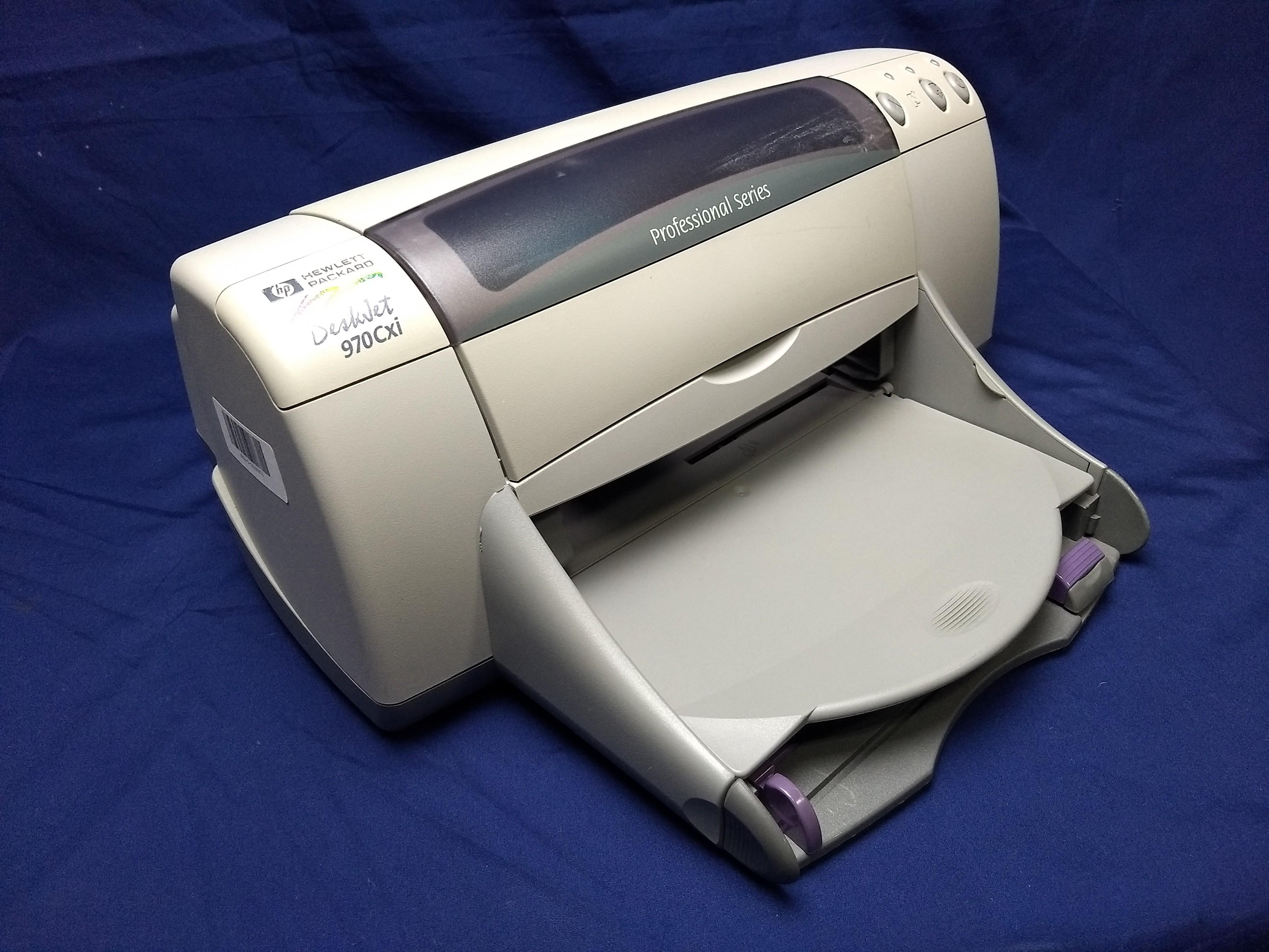 HP Deskjet 970Cxi Left