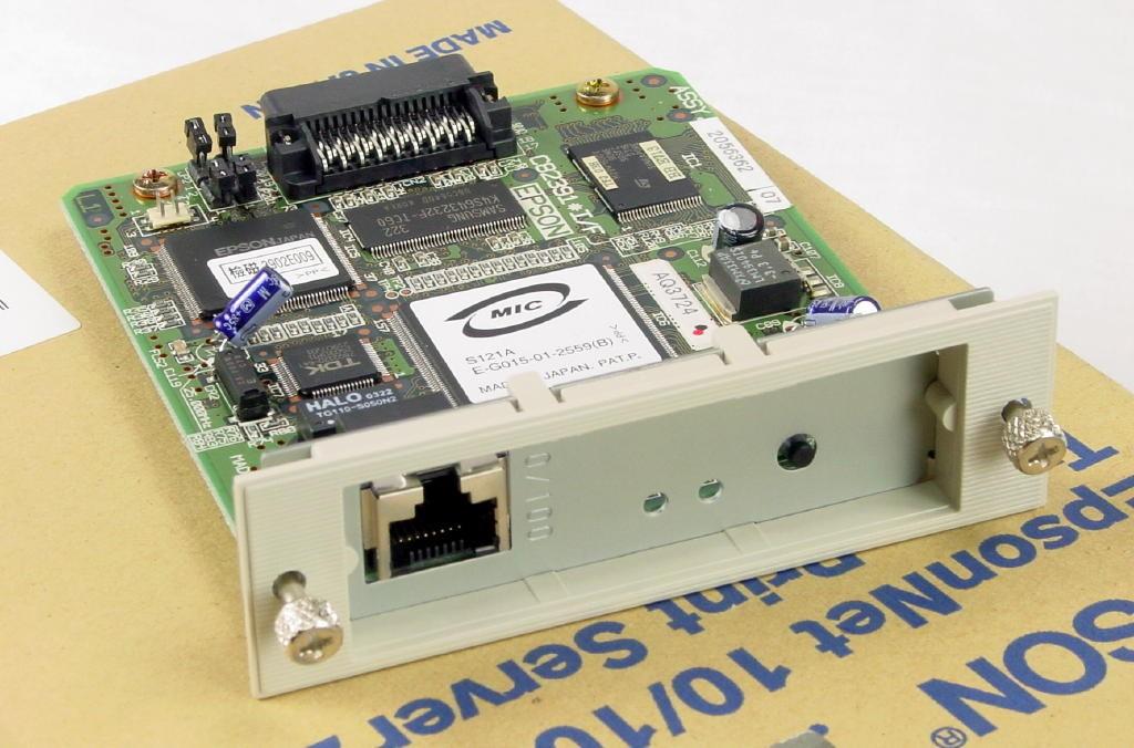 Epson C823912 Internal EpsonNet 10/100 Base Tx Internal Print Server 2